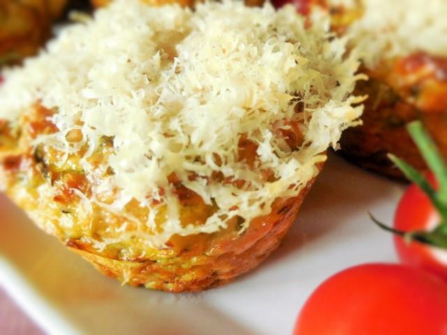 Muffin Courgette Feta