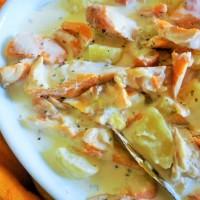 Haddock et pommes de terre à la crème