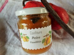 Confiture de poires vanillées
