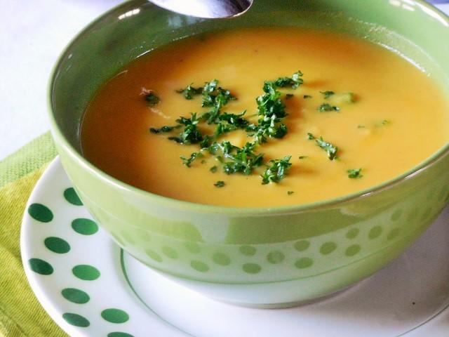 Velouté de carottes au lait decoco