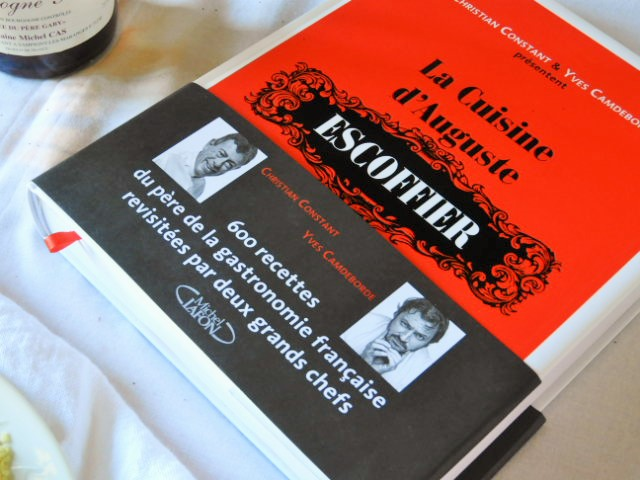 Livre 'La cuisine d'Auguste Escoffier' de Ch Constant et Y.Camdeborde
