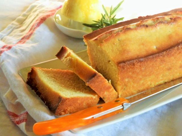 Cake citron etromarin