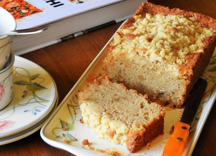 Cake crumble pomme/poire de YotamOttolenghi