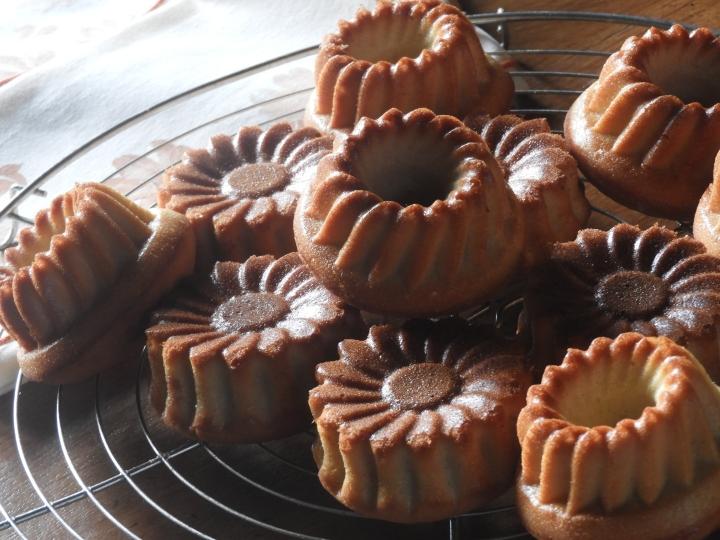 Petits gâteaux vanillés