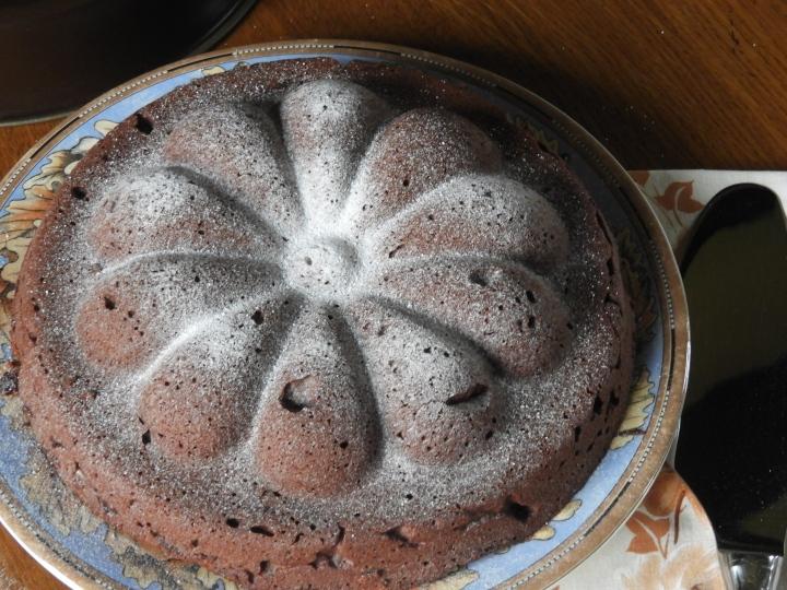 Gâteau au chocolat, comme un TortaCaprese