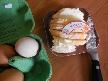 Tarte au fromage de Langres - Ingrédients