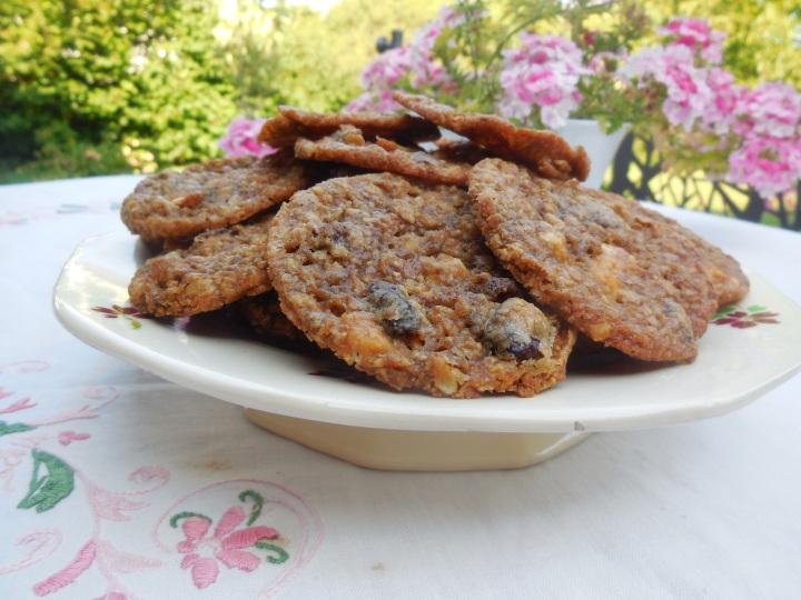 Biscuits chocolat blanc & cranberries de Y.Ottolenghi