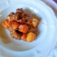 Ragoût de boeuf, carottes et pommes de terre