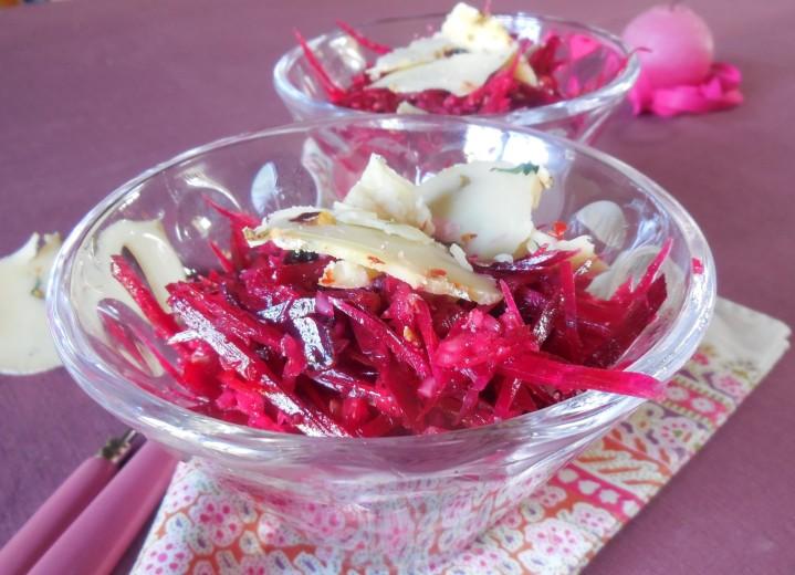Salade de betterave, cranberries etsarrasin