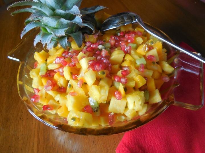 Salade de fruitsexotiques