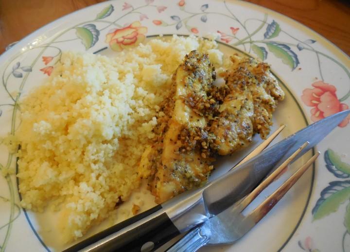 Aiguillettes de poulet panées aux graines de Y.Ottolenghi