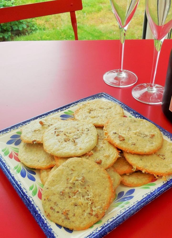 Biscuits salés aux blancsd'oeuf