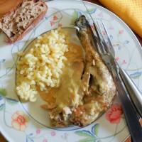 Poulet à la crème et foie gras façon Georges Blanc