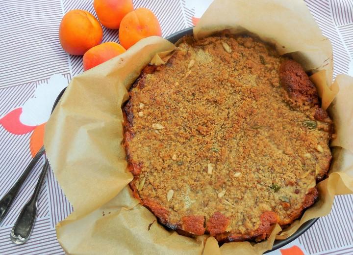 Crumbcake à l'abricot – Foodista Challenge#53