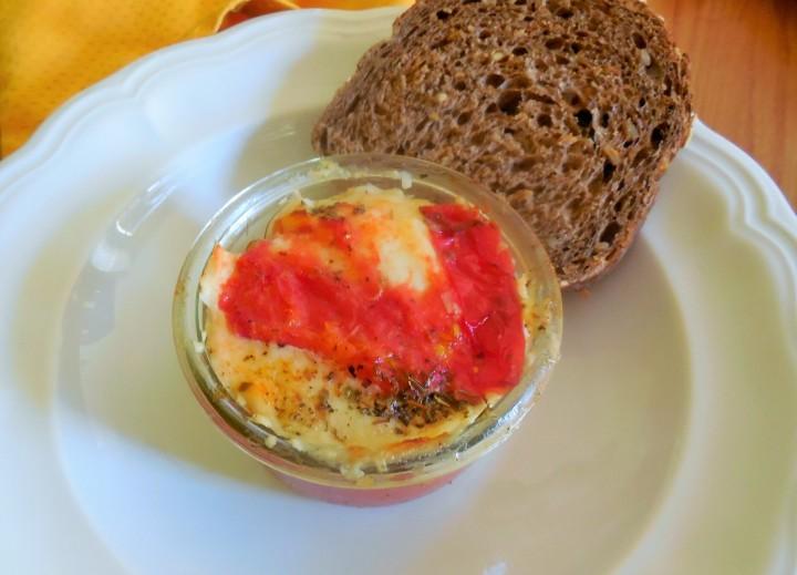 Lasagne de tomate etBurrata