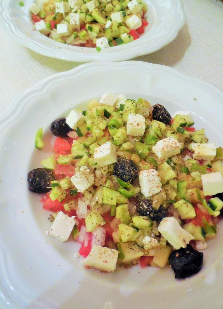 Salade grecque ou salatahoriatiki