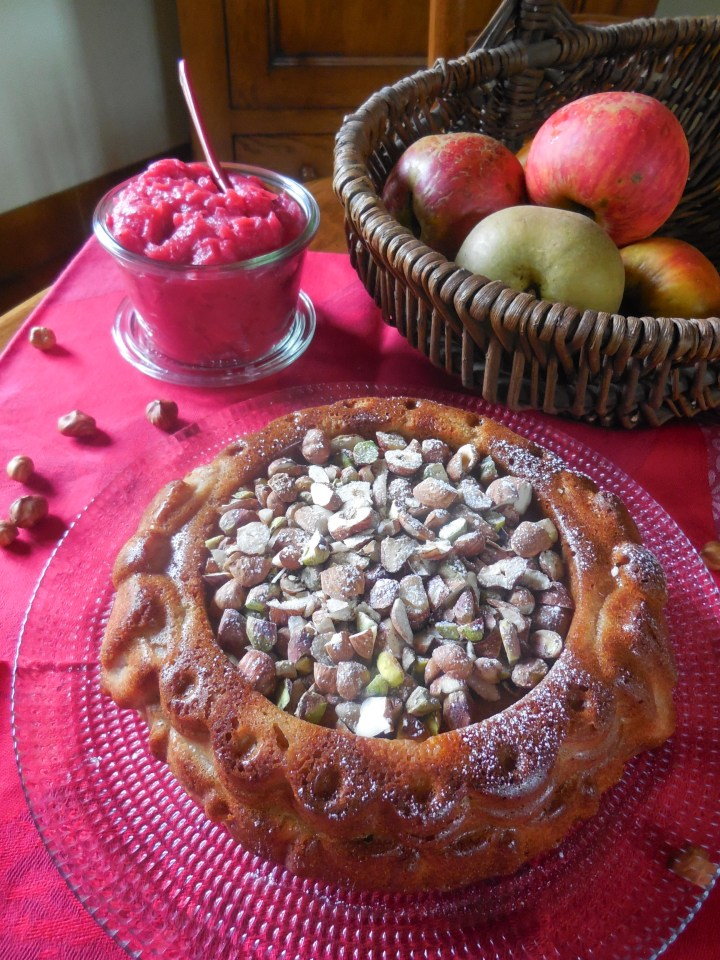 Gâteau de sarrasin aux pommes