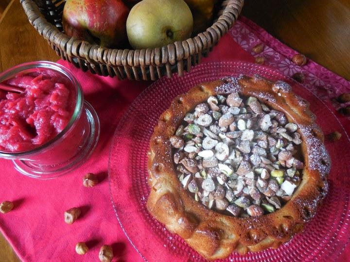 Gâteau de sarrasin auxpommes