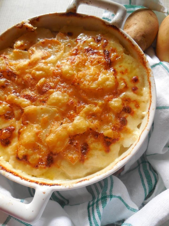 Lasagnes de pommes de terre aujambon