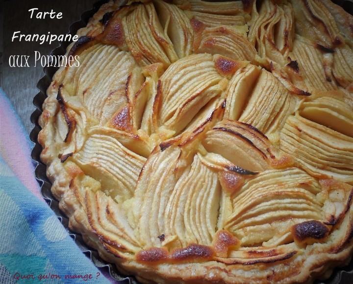Tarte frangipane aux pommes