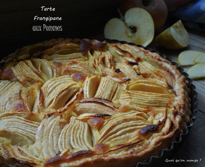 Tarte frangipane auxpommes