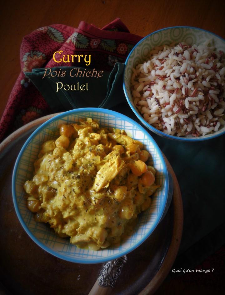 Curry de pois chiche aupoulet