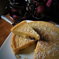 Arepa dominicana, gâteau de semoule de maïs et noix de coco