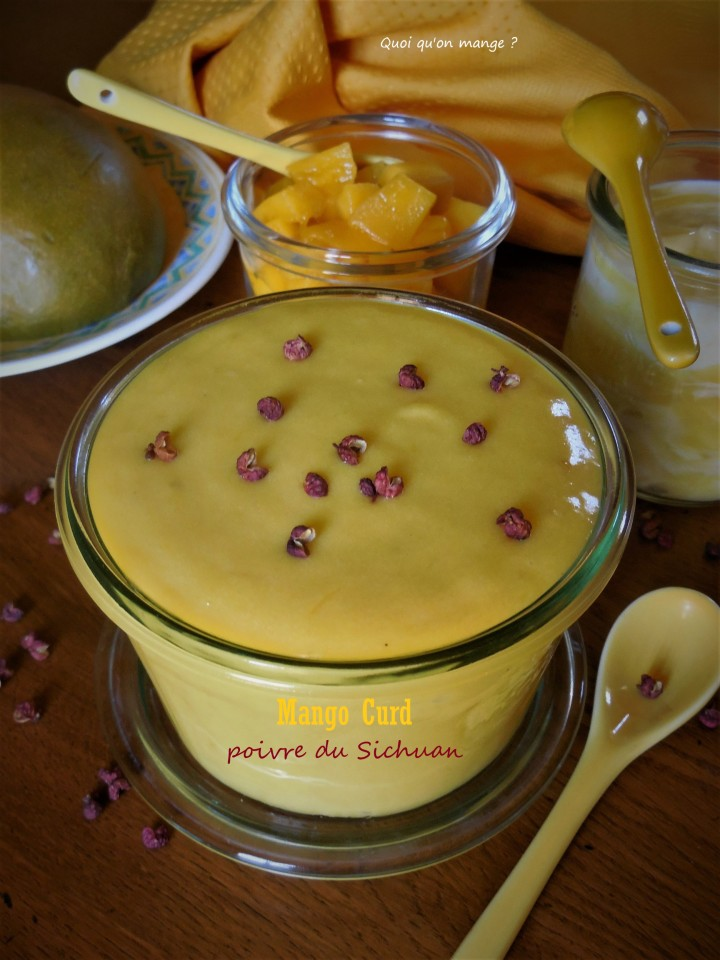 Mango Curd au poivre du Sichuan