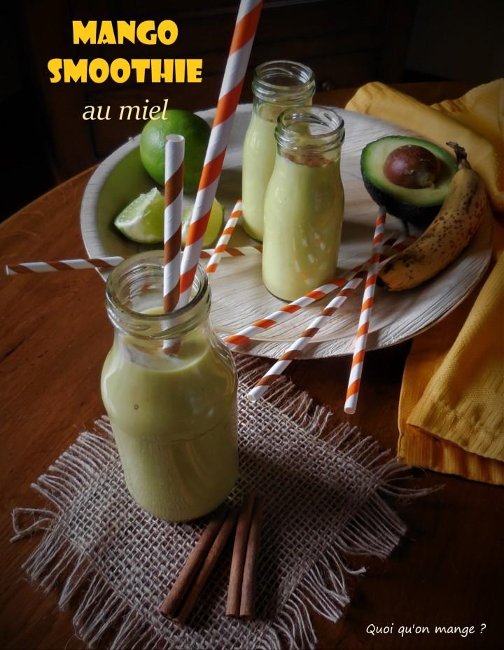 Mango smoothie parfumé aumiel