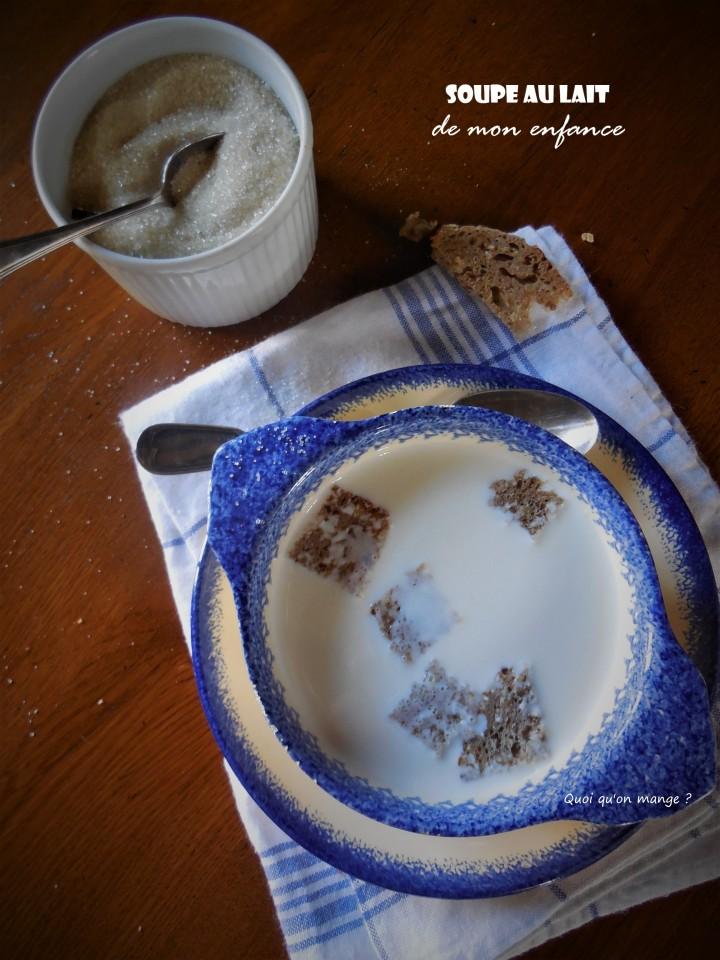 Soupe au lait de monenfance