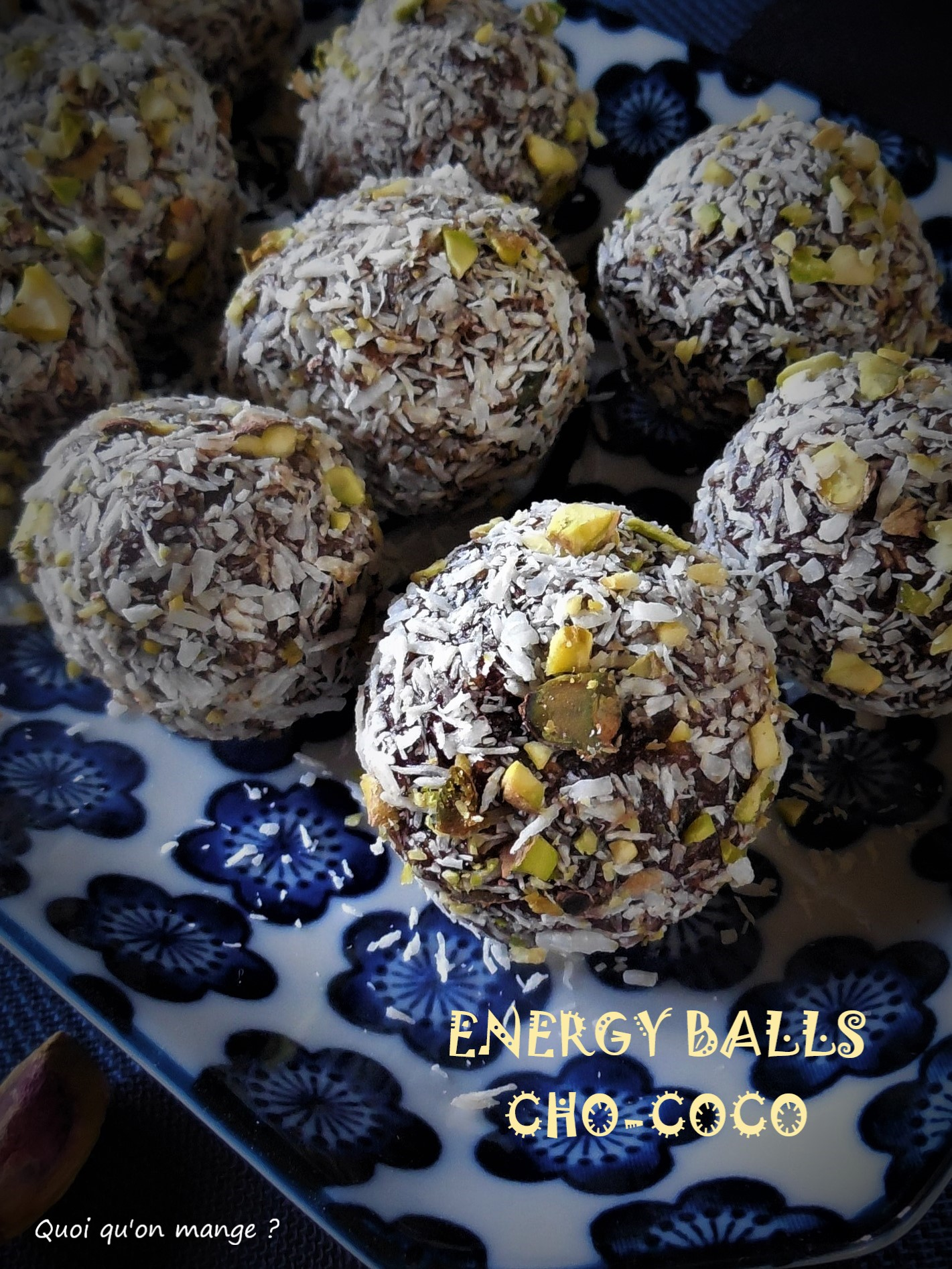 Energy balls cho-coco
