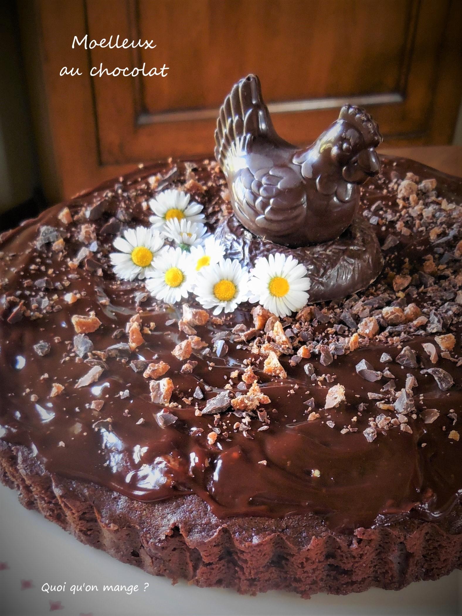 Moelleux au chocolat pour Pâques