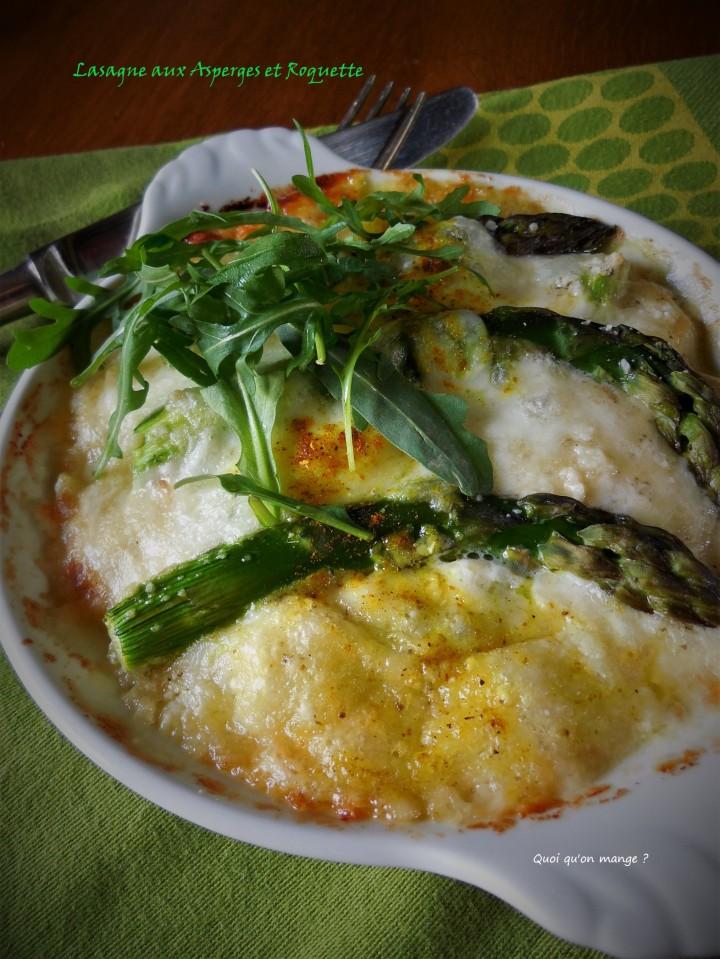 Lasagne asperges etroquette