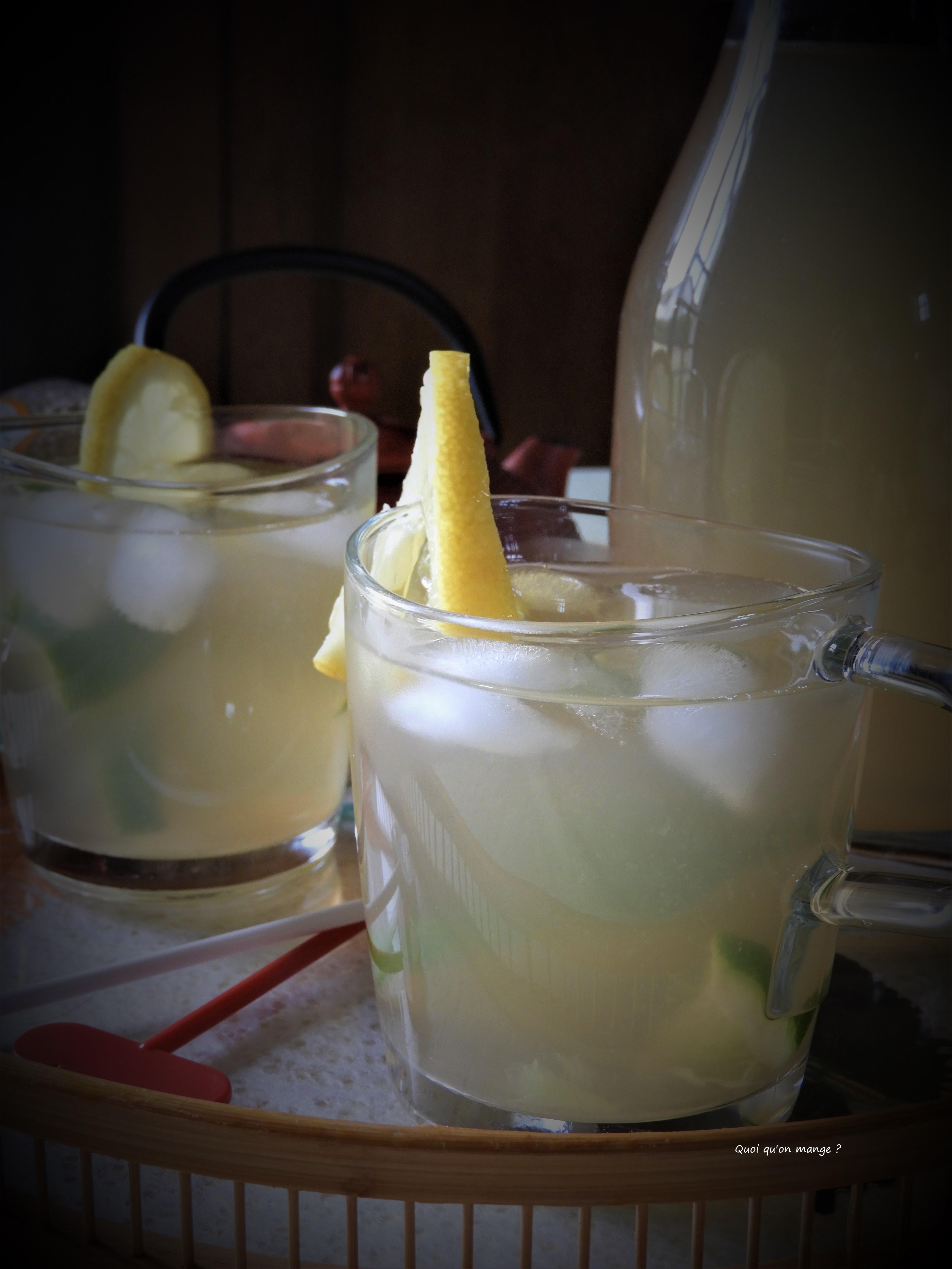 Infusion glacée au sarrasin ou Sobacha glacé
