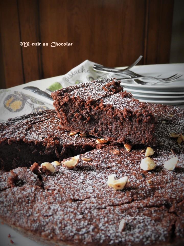 Mi-cuit au chocolat de SuzyPalatin