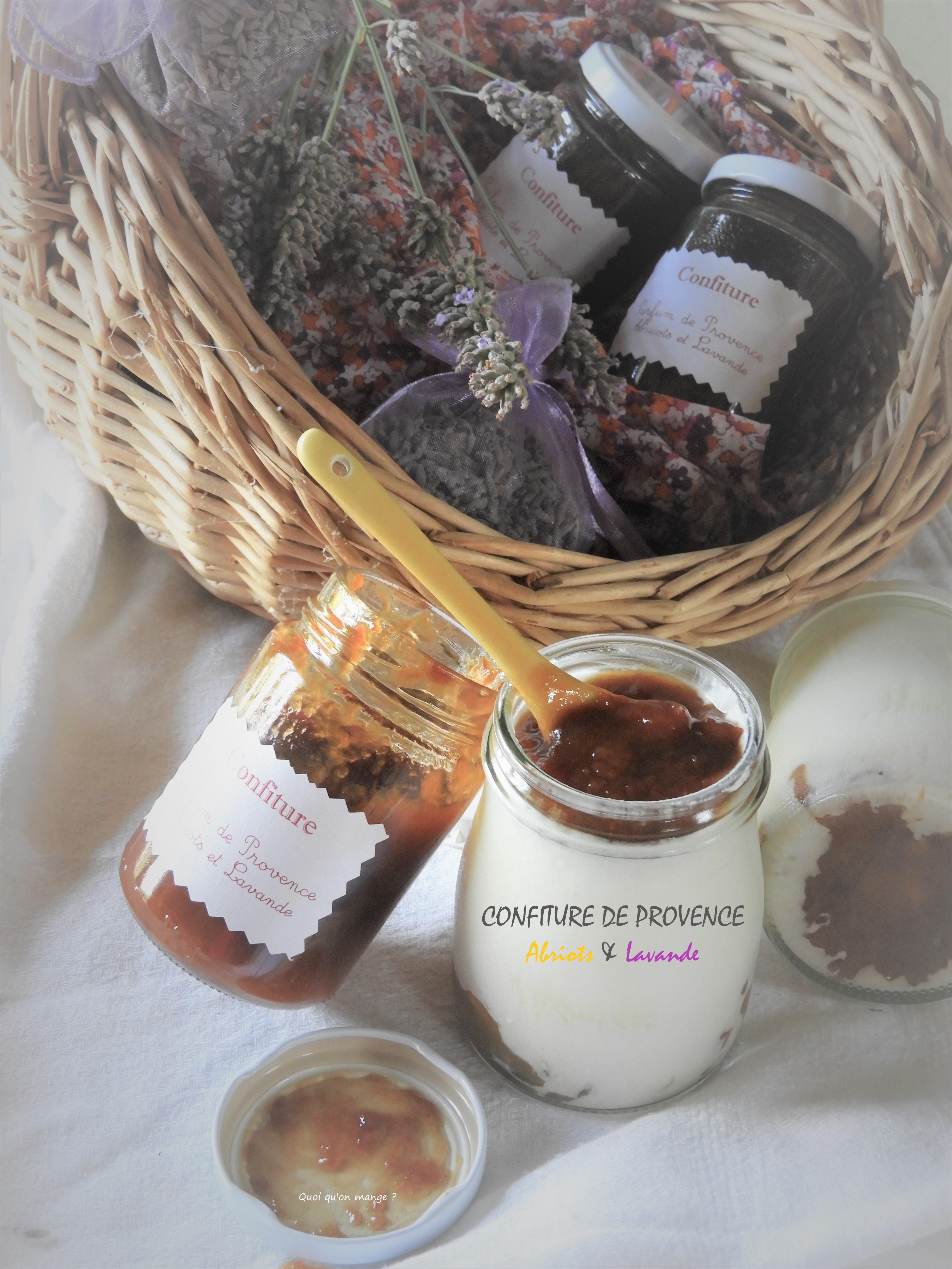 Confiture de Provence Abricots & Lavande