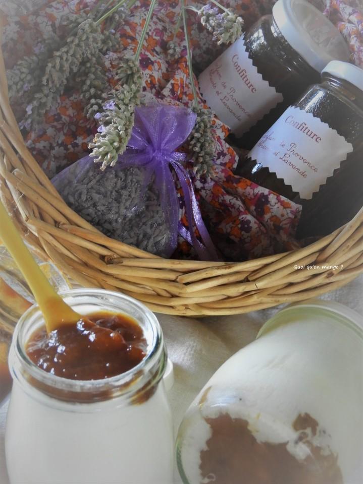 Confiture «Parfum de Provence» abricots et fleurs delavande