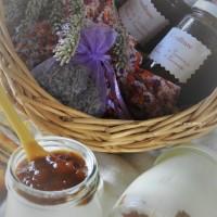 """Confiture """"Parfum de Provence"""" abricots et fleurs de lavande"""
