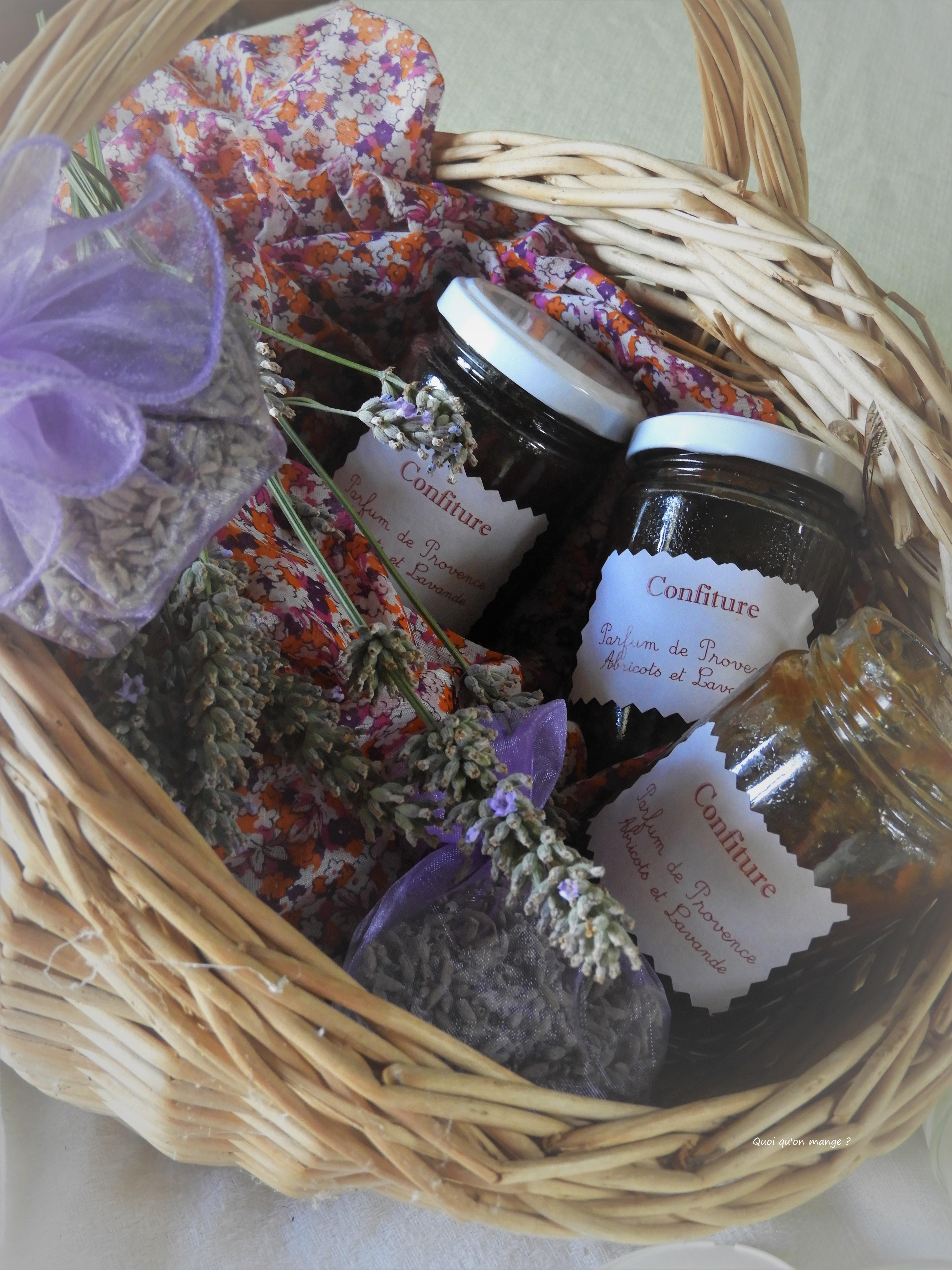 Confiture Parfum de Provence Abricots et Lavande