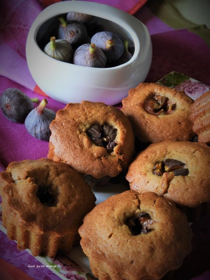 Petits gâteaux aux figuesfraîches