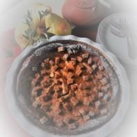 Clafoutis poires, saveurs pain d'épices