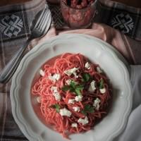 Spaghetti savoureusement girly