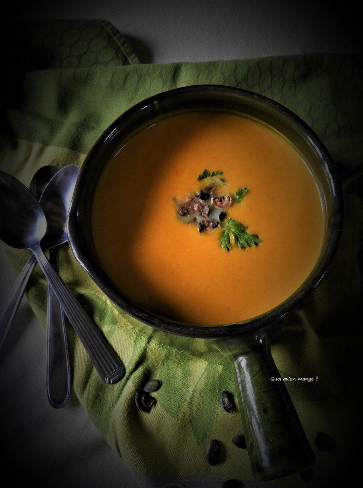 Velouté de potimarron saveurs curry deMadras