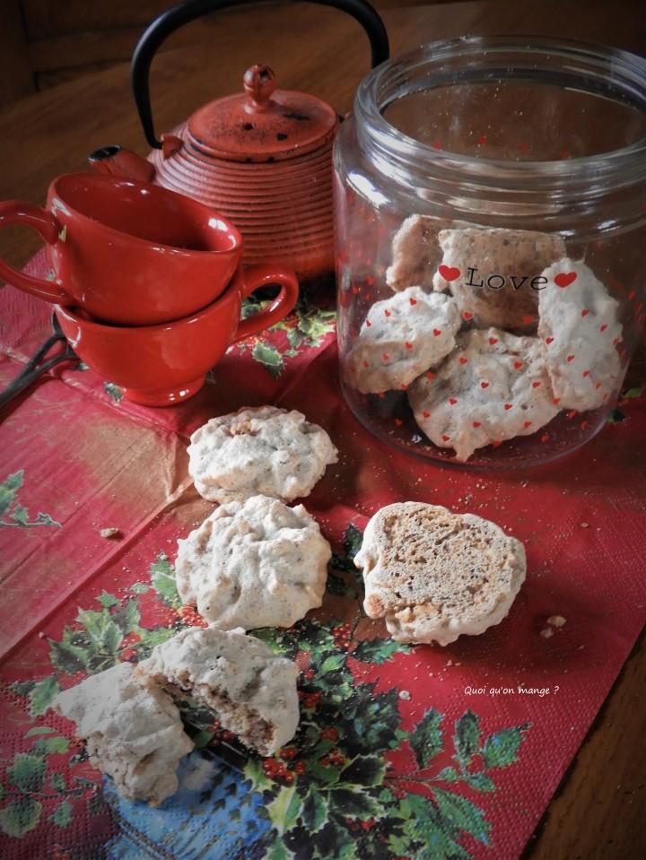 Biscuits meringués amande etnoisette