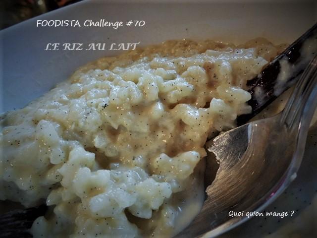 Foodista Challenge #70, lesrésultats