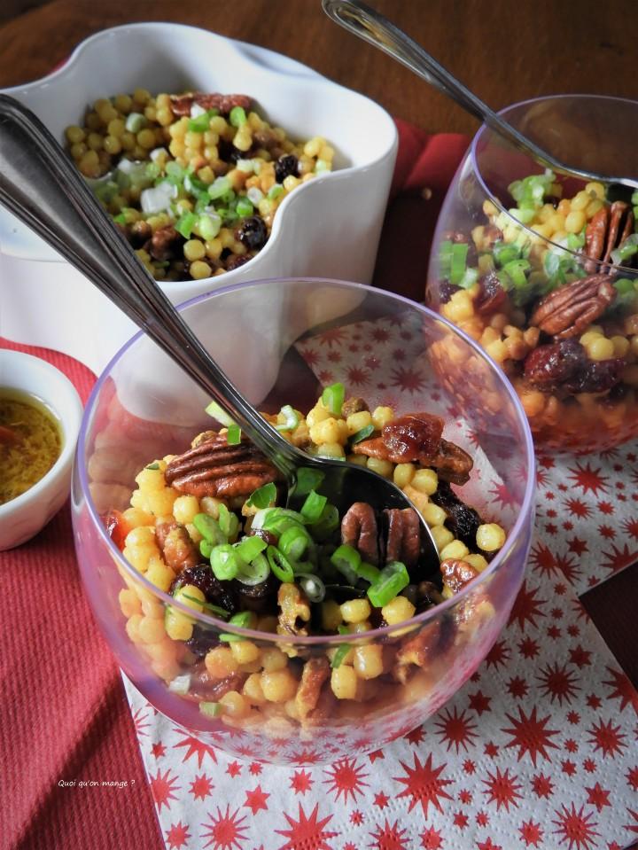 Cranberries couscous