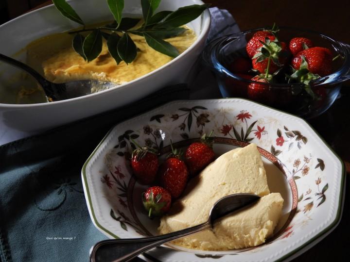 Crème aux œufs, laurier et miel desarrasin