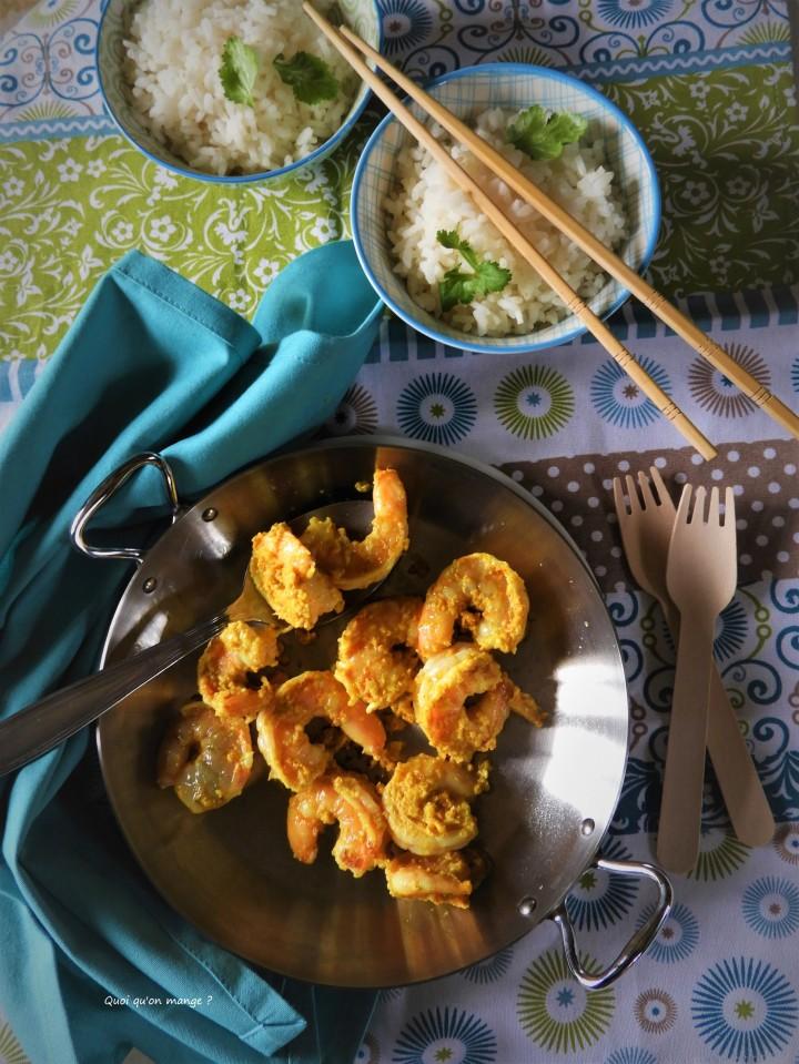Crevettes sautées façonbirmane