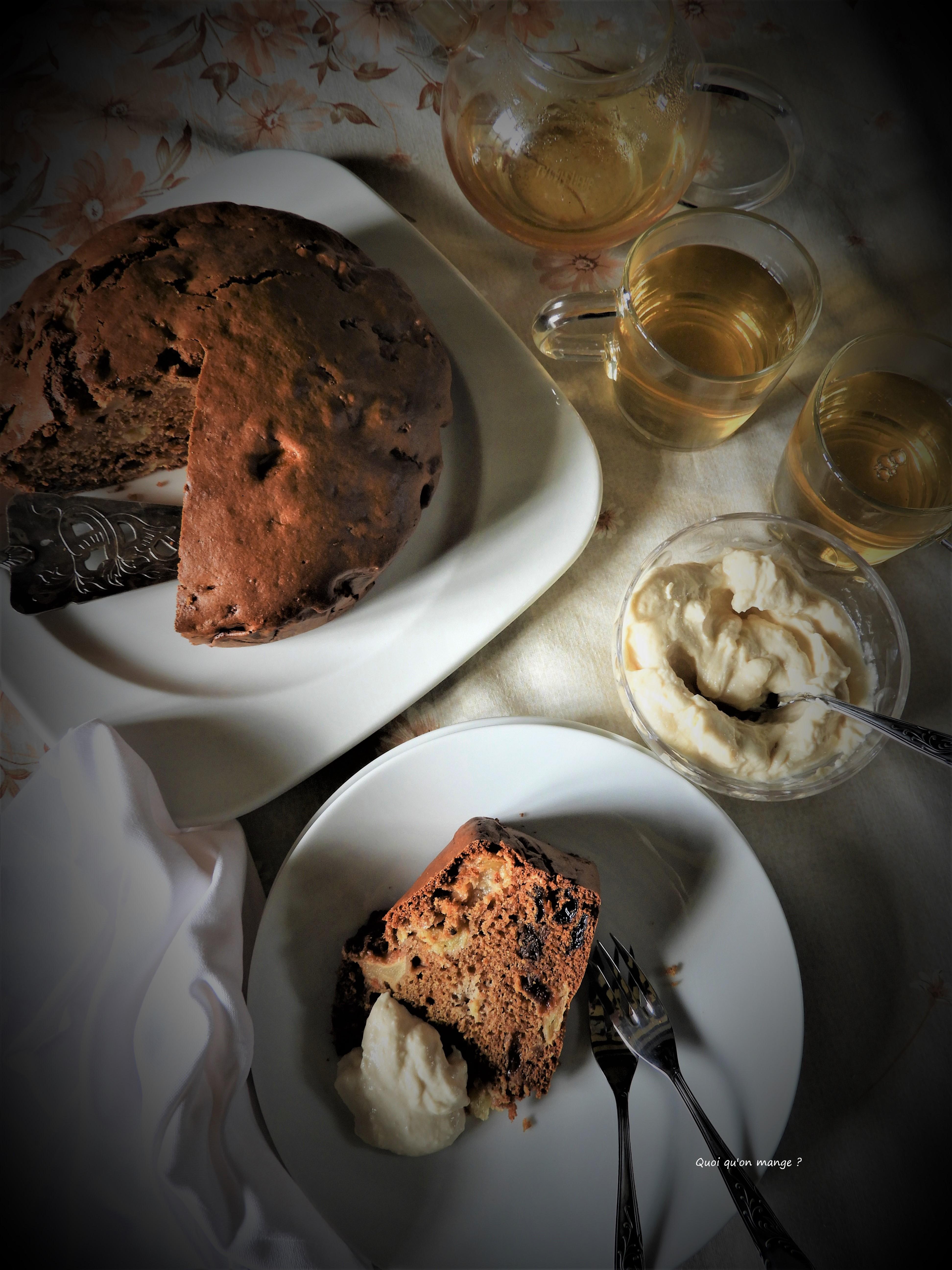 Gâteau aux pommes et huile d'olive de Yotam Ottolenghi