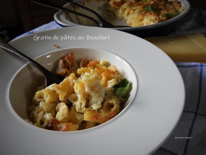 Gratin de pâtes au Beaufort vu par CyrilLignac